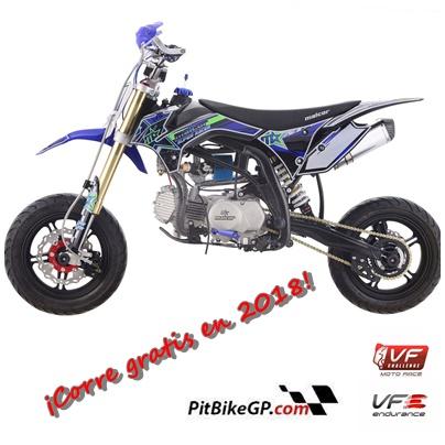 ¿Quieres correr gratis? ¡Compra tu moto en pitbike GP!