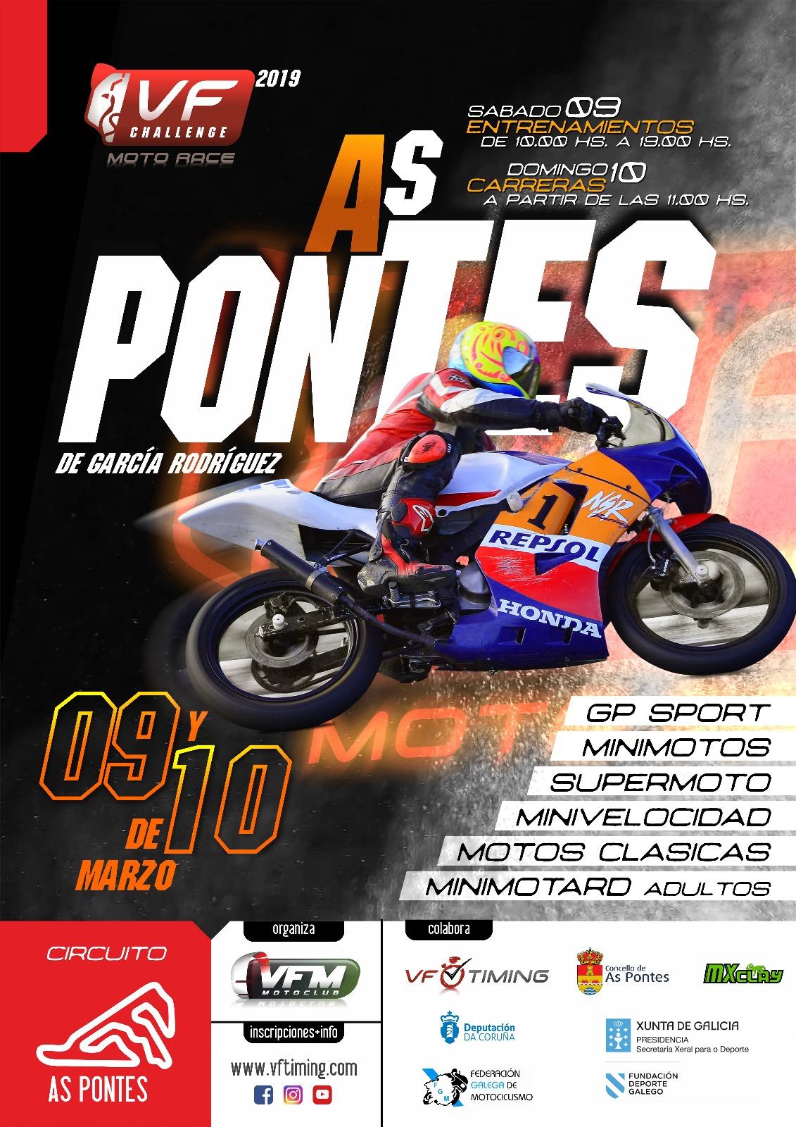 VF Challenge M.R. As Pontes- Cto Galego Velocidade