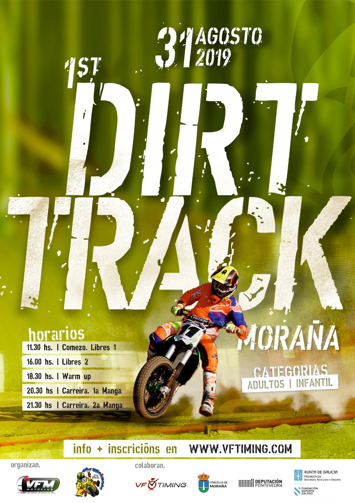 Dirt Track Moraña