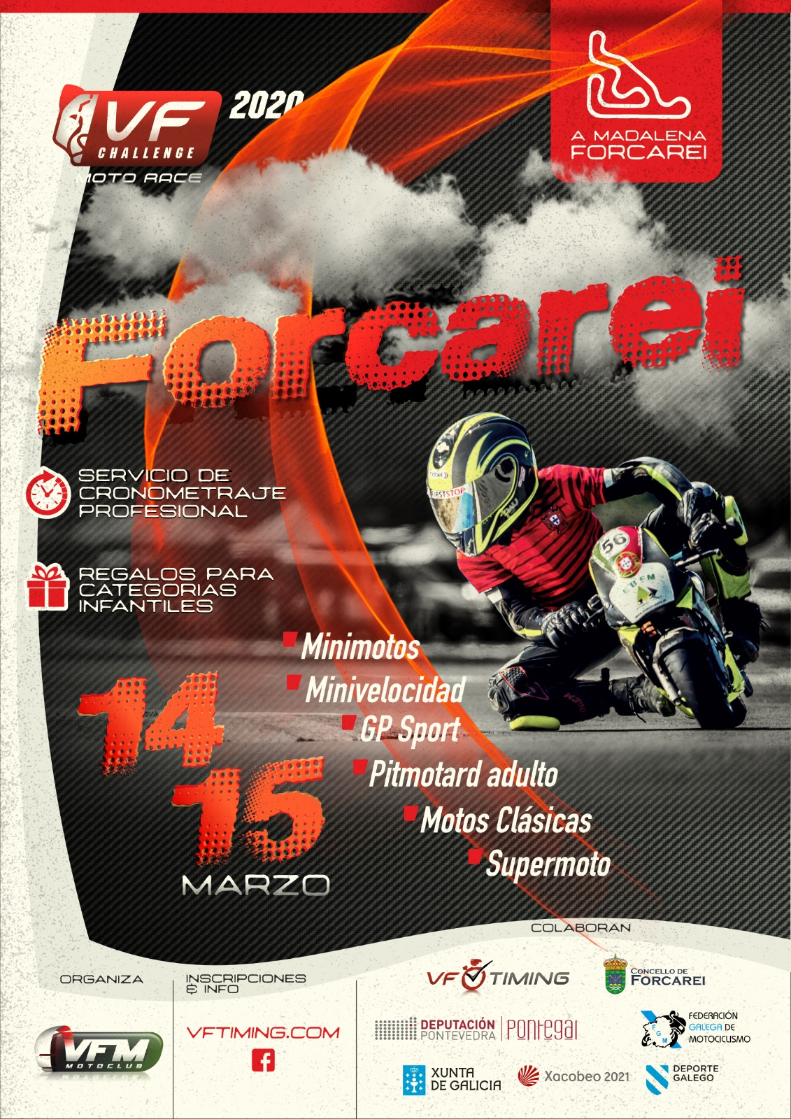 VF Challenge Moto Race Forcarei I