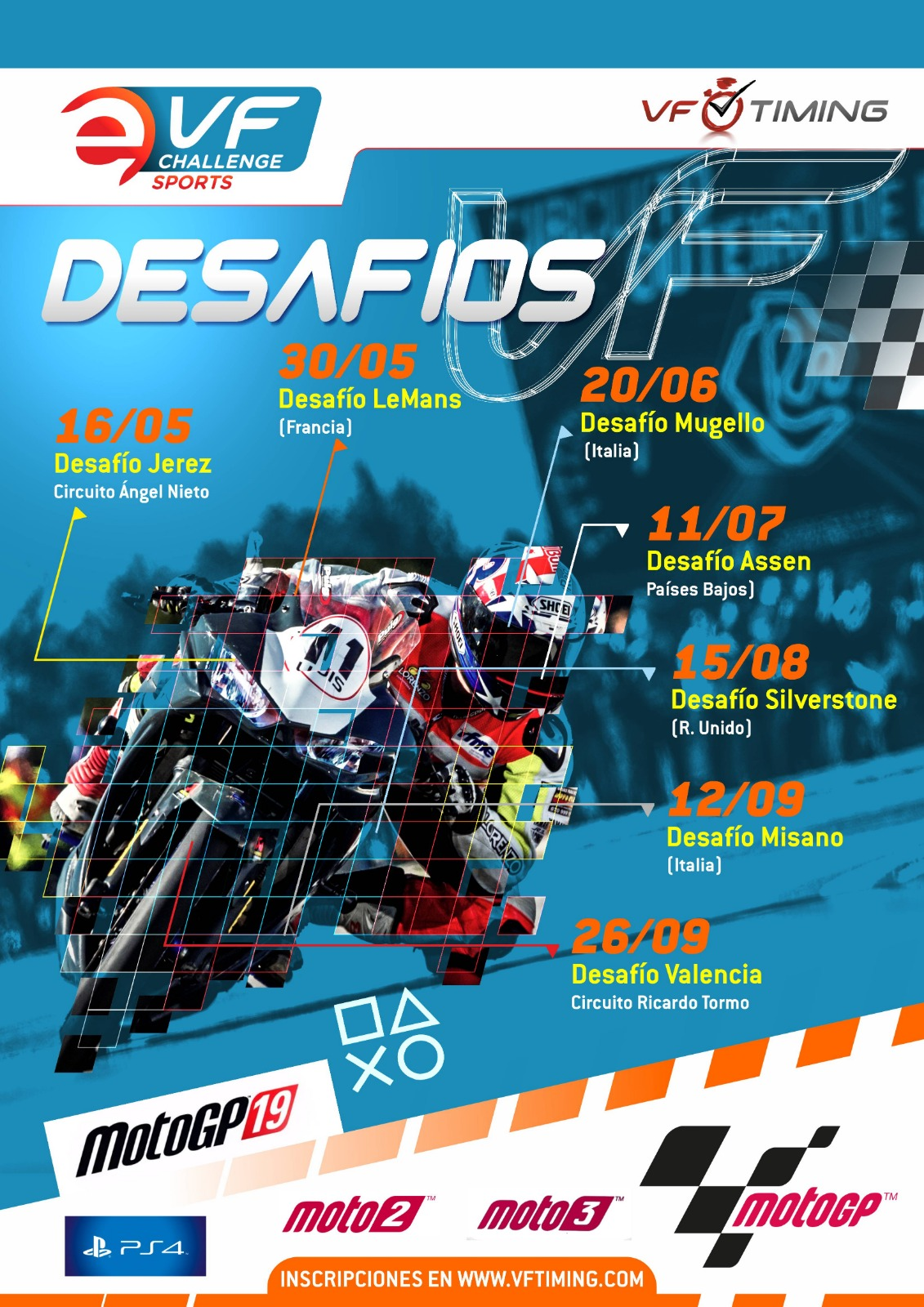 Desafío Virtual VF Jerez