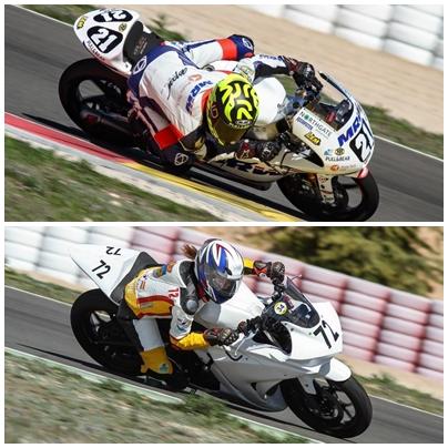 Los pilotos SuperXtrem Borja Sanchez y Tania Fernandez rinden a un gran nivel en Albacete
