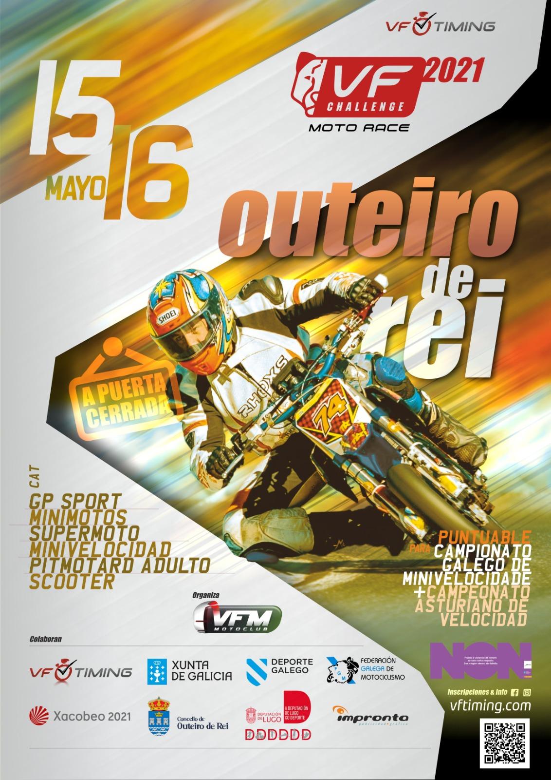 VF Challenge MR Outeiro - Cto Galego de Asturias de Velocidad
